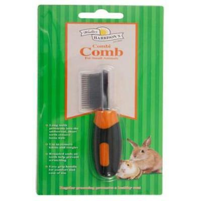 Walter Harrisons Small Animal Rabbit Guinea Pig Grooming Combi Comb