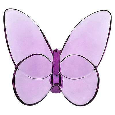 Baccarat Crystal Lucky Butterfly - Violet 2103588