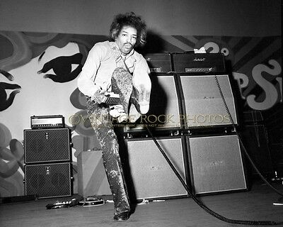 Jimi Hendrix Photo 8x10 inch Live '68 Rome Italy Concert Exclusive Pro Print 502