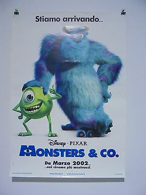 S3 COD:0281/C - Poster 100X70: MONSTERS & CO. animazione