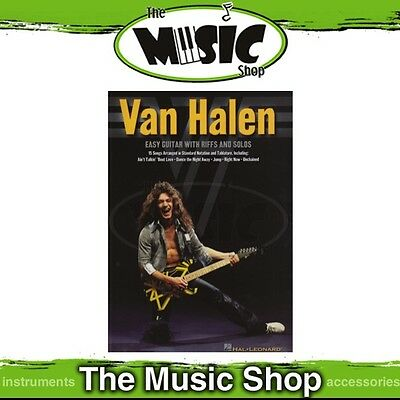 New Van Halen Music Book for Easy Guitar with Notes & Tablature