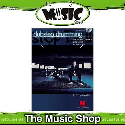 New Dubstep Drumming Music Book & MP3 CD - Drum Tuition