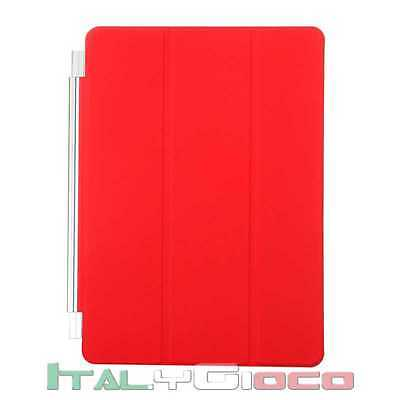 Custodia Smart Cover Magnetica per Apple iPad Mini 2 Retina Case Copertina Rosso