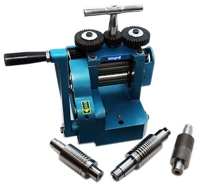 NEW COMPACT ROLLING MILL COMBINATION 80mm WITH FIVE (5) ROLLERS JEWELRY