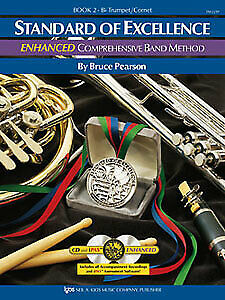 Standard of Excellence Enhanced BK 2 Trumpet PW22TP PEARSON KJOS NEW