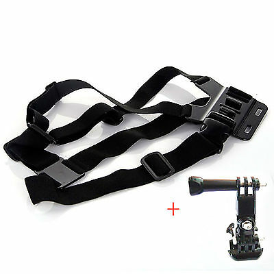 ST-26 Elastic Body Chest Harness Strap Mount Belt Adjustable for Gopro Hero1 2 3