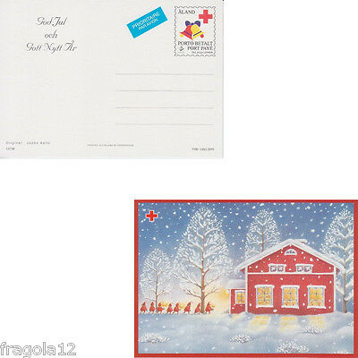 Aland 1993 - Natale - Christmas - Cartolina Postale (4) - Unused