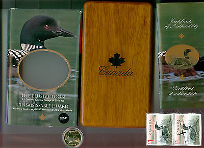 2004 $1 Elusive Loon DC (Proof) Canada Dollar LOW MINTAGE BOX AND COA