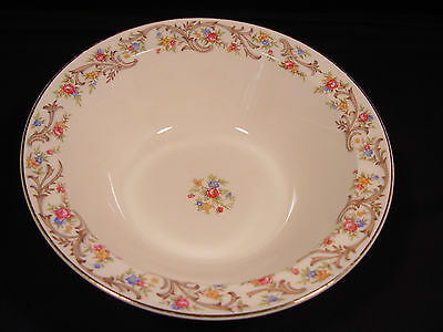 """Vintage 1940's 9"""" Taylor Smith Taylor Floral Vegetable Bowl - FREE SHIPPING!"""
