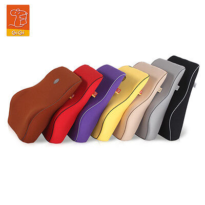 Memory Lumbar Back Support Cushion Pillow for Office Home Car Auto Seat Chair