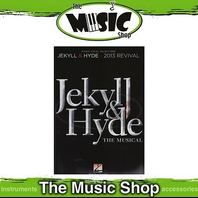 New 'Jekyll & Hyde' the Musical Vocal & Piano Selections Music Book