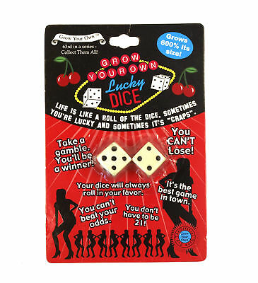 Grow Your Own Lucky Dice