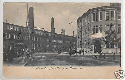 Lithograph - Scene at Winchester Arms Co. - New Haven - 1907