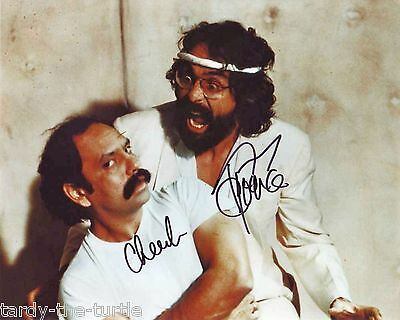 Cheech and Chong  8 x 10 Autograph Reprint Nice Dreams Next Movie Up In Smoke
