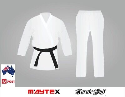 KARATE UNIFORM SIZE 4/170 Best Quality & Fit Uniform 12 Oz Fabric Cotton