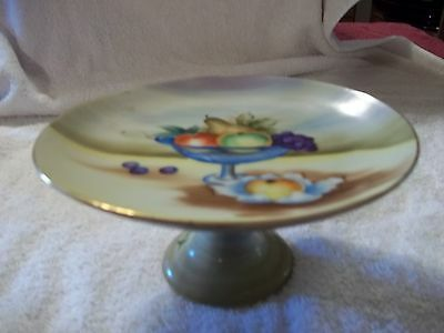 Fruit Bowl on a Pedestal-Lenwile China-Ardalt-Japan-6046E