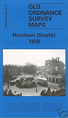 Old Ordnance Survey Map Horsham South 1938