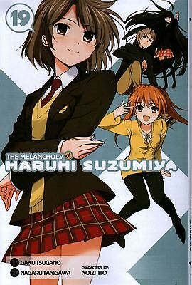 The Melancholy of Haruhi Suzumiya Vol 19  Manga   Pbk  NEW