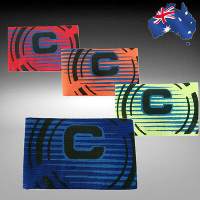 Red/Orange/Yellow/Blue Soccer Football Captain Armband Arm Band OFARM01
