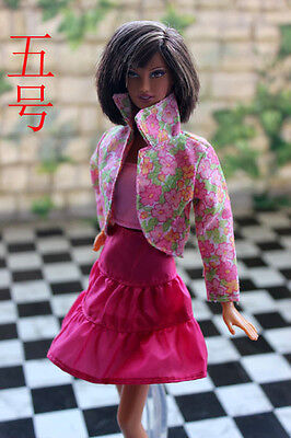 High quality Original cute gown wears clothes for barbie Doll Party A1117