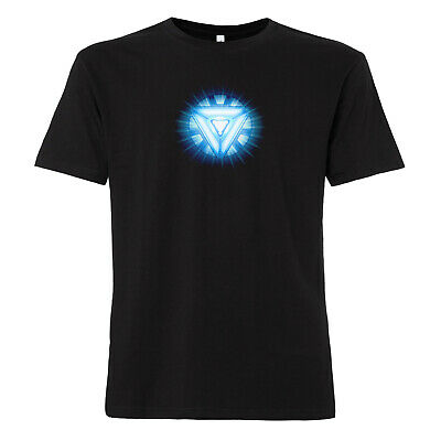 Arc Reactor - T-Shirt Iron Man Marvel Avengers Comic Kult Tony Stark Thor