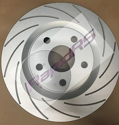 ASTRA AH TS SRi Convertible TURBO ABS  FRONT BRAKE DISC ROTORS SLOTTED 308mm