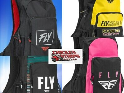 NEW FLY Racing Jump Motocross Gear Accessories Bag Backpack FREE SHIP ALL COLORS