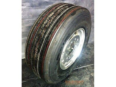 TRUCK TYRE SUPER SINGLE ALLOY MESH# & TYRE PACKAGE DEAL MESH# 11.75x22.5 10/285