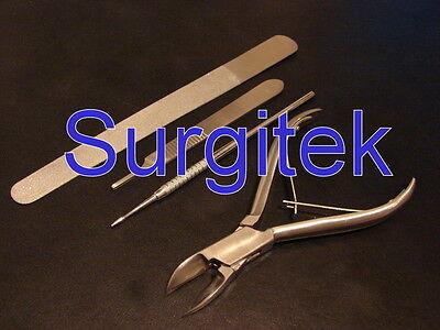Podiatry - Stainless Steel Instrument Set of 4 * NEW *
