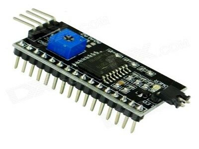 IIC/I2C Serial 1602 LCD Interface Adapter Board 5v Module Black Arduino UK  A906