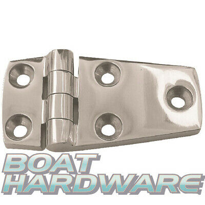 Door Hinge 316 Stainless Steel 38 x 56mm Boat Hatch Deck Hardware DIY Install