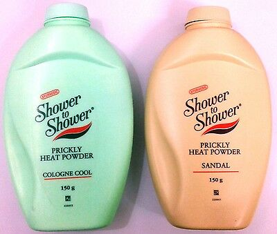 Shower to Shower :: Prickly Heat Powder :: 150 GM :: Cologne Cool / Sandal