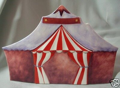 "Made By Goebel ""porcelain Circus Tent"" 13140 No Box"