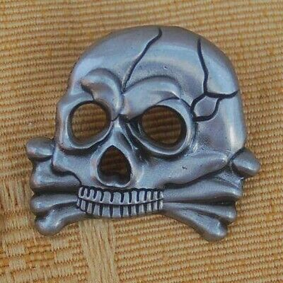 Husaren Totenkopf Skull Biker Pin Button Badge Anstecker Anstecknadel 380