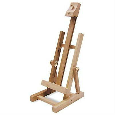 WOOD Table Easel For Art Artwork Tabletop For Canvas Display or Painting REA400