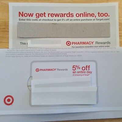 Target Pharmacy Rewards 5% OFF Entire Day IN STORE + Bonus ONLINE code 10/09/14