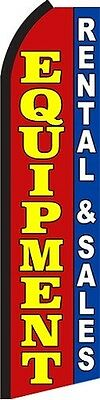 EQUIPMENT RENTAL AND SALES Swooper Flag (2.5ft x 11.5ft)