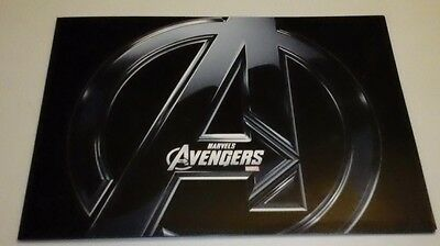 Disney Store Marvel Avenger's Set of 4 Exclusive Lithographs with Marvel seals
