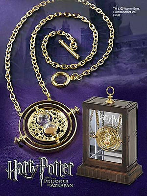 Hermione Time Turner Harry Potter Magic Wizard Collectable Necklace 24Crt Plated