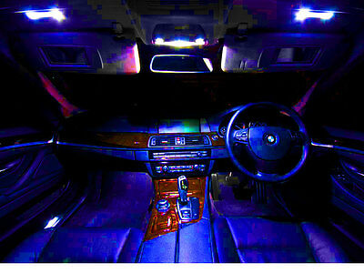 Jeep Grand Cherokee 99-2004 High Performance LED Interior Kit Blue HID Color 8