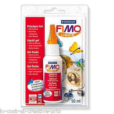FIMO LIQUID DECO / DEKO GEL FOR FIMO POLYMER CLAY 50ml - FIMO ACCESSORIES