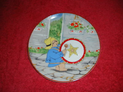 Paddington Bear collectors plate.A musicians dream collection.First edition #494