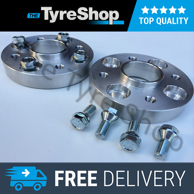 VW Scirocco Mk1/2, 25mm Alloy Hubcentric Wheel Spacers 4x100 PCD 57.1 CB Spacer