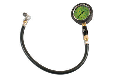 "New Release! Liquid Filled Tyre Pressure 2.5"" Gauge Tool 0 - 60 Psi"