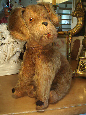 A Lovely French Vintage Mohair 1930's Dog