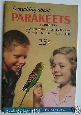 Booklet For Everything About Parakeets (Budgies)