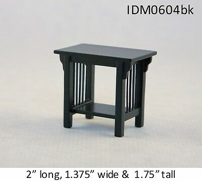 DOLLHOUSE MINIATURES Heirloom Collection Shaving Stand 1:12 Scale