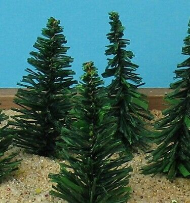 "Evergreen Tree 5 Pcs Set - 2"" Tall"