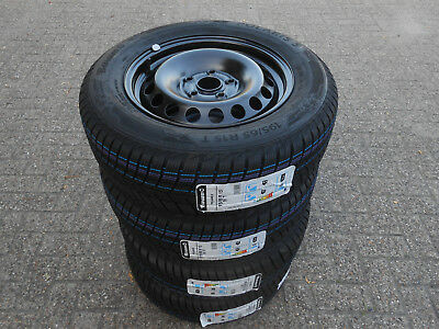 Winterreifen / Felgen Barum Polaris 195/65R15 91T VW Golf  5 / 6 Skoda Octavia