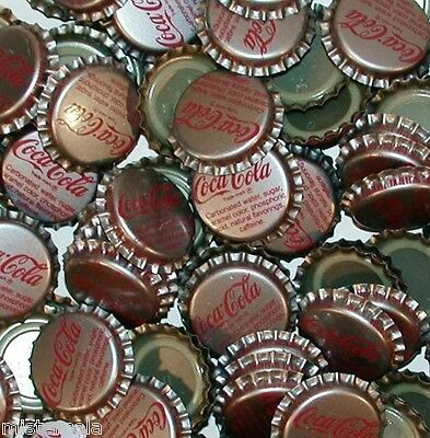 Soda pop bottle caps Lot of 25 COCA COLA Tullahoma Tenn plastic new old stock